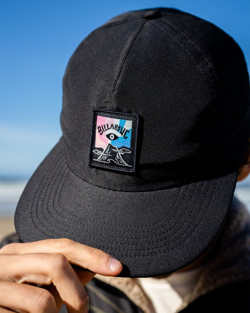 [BILLABONG] EYESOLATION TOGGLE HAT(BLK)